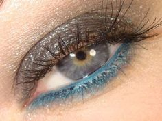 My perfect makeup look. Suits best green eyes with blue in them, or blue eyes with brown or yellow in them. Gorgeous!