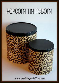 Crafting Rebellion: Popcorn Tins Reborn