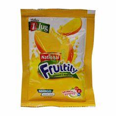 Fruitely Mango #mango #instantdrink #energy