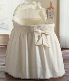 Embossed Damask Creation Bassinet Set from Baby Doll at aBaby. We offer Baby Doll Embossed Damask Creation Bassinet Set for your baby at great prices. Baby Doll Bed, Doll Beds, Baby Dolls, Cradle Bedding, Nursery Bedding, Doll Bedding, Baby Bedding, Baby Necessities, Baby Essentials