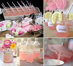 Romantik und Vintage Rose Hochzeit Dekoration Ideen!  Wedding deco ...
