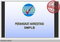 Operator Sekolah File: PERANGKAT AKREDITASI SMP-LB LENGKAP SESUAI BAN SM