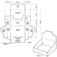 200+ free packaging box templates!!! Display Box                                                                                                                                                                                 More