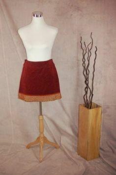 Cynthia Cynthia Steffe Velvet Mini Skit 2 New Paisley Rust Red