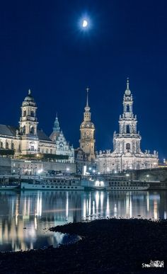 Moon, Dresden, Germany