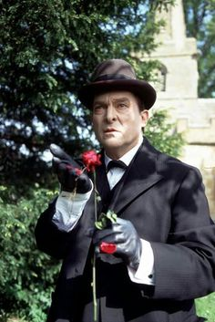 Jeremy Brett's Sherlock Holmes - and a rose