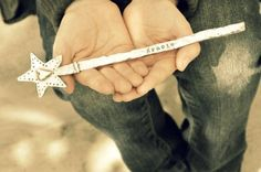 personalized wand for M