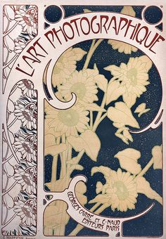 1899 L'Art Photographique - Mucha by mpt.1607, via Flickr