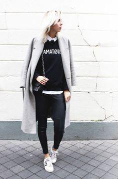 Una de las prendas IT de esta temporada: pantalones de cuero o engomados. Cómodos, imitan tu piel y estilizan las piernas. ¡Mirá cómo combinarlos!