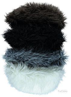 Poduszka dekoracyjna LUMA szary/Faux fur pillow LUMA gray