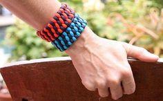 Chunky Woven Paracord Bracelet