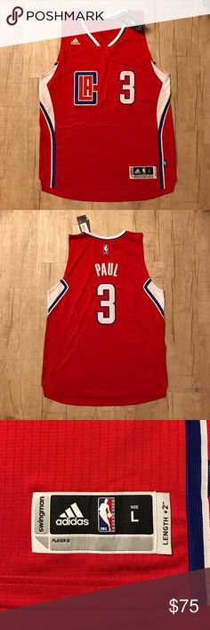 2016-2017 Adidas swingman CP3 LA Clippers Jersey NWT Adidas Swingman Los Angeles Clippers Chris Paul Jersey | Size: L adidas Other