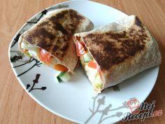 Zeleninová tortilla | NejRecept.cz French Toast, Breakfast, Ethnic Recipes, Food, Diet, Author, Morning Coffee, Meal, Essen