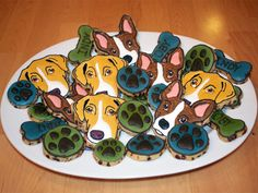 Dog Chocolate Chip Cookies - Semi Sweet Designs