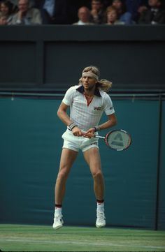 Borg and those crazy 70's tennis shorts :P