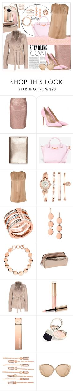 """""""Monday Business"""" by queenvirgo ❤ liked on Polyvore featuring True Decadence, Gianvito Rossi, Ted Baker, Michael Kors, Anne Klein, Links of London, MICHALSKY, By Terry, Henri Bendel and Linda Farrow"""