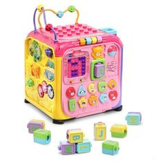 Ultimate Alphabet Activity Cube;