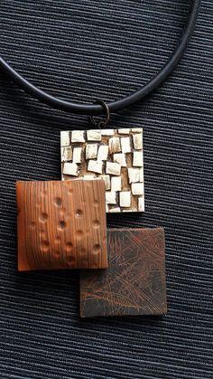20151122_113739   marjana   Flickr Ceramic Jewelry, Terracotta Jewellery, Ceramic Pendant, Porcelain Jewelry, Plastic Fou, Polymer Clay Projects, Clay Crafts, Polymer Clay Necklace, Polymer Clay Pendant