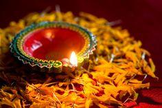 Happy diwali - clay diya lamps lit durin... | Premium Photo #Freepik #photo #diwali Happy Diwali Photos, Diya Lamp, Diwali Celebration, Lamp Light, Birthday Candles, Lamps, Greeting Cards, Clay, Design