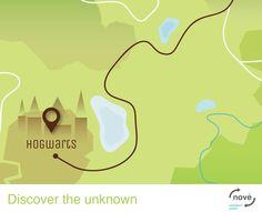 Nove Navigation System: Hogwarts, Gotham City, Mordor, El Dorado, Atlantis