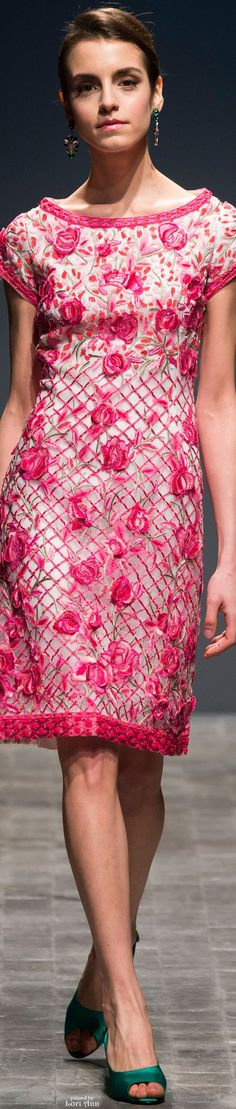 Curiel Couture Spring 2016 women fashion outfit clothing style apparel @roressclothes closet ideas