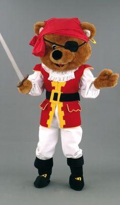 Mascotte Ours Pirate Deguisement Mascotte, Thème Pirate, Ours, Costumes De  Mascotte, Pirates d974e4d292f0