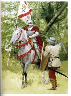 Graham Turner - Caballero borgoñón, siglo XV