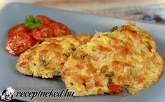 Búbos csirkemell recept fotóval European Dishes, Poultry, Quiche, Cauliflower, Chicken, Vegetables, Breakfast, Recipes, Food