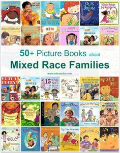 Multicultural Picture Books Mixed Race Families _One Family_ and _Who's in My Family?_ both include queer families. Toddler Books, Childrens Books, Mixed Families, Preschool Books, Preschool Plans, African Children, School Pictures, Family Pictures, Mentor Texts
