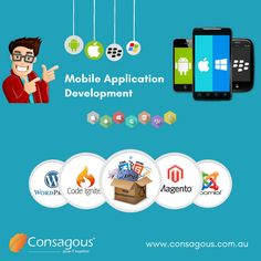 As a app development company Consagous provide best professional mobile application development Services. Our team is specialize in offering customized application development for building a functional app with seamless performance.
