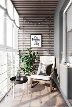 Look at These Balcony Designs That Fit with Your Minimalist Apartment - Apartment Decor - Balkon Apartment Balcony Decorating, Design Apartment, Apartment Balconies, Apartments Decorating, Parisian Apartment, Apartment Layout, Cozy Apartment, Apartment Interior, Glass Balcony