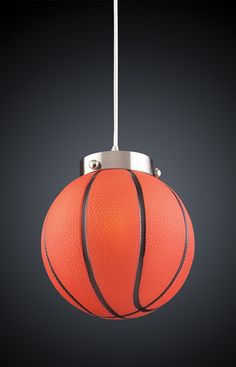 1 Light Basketball Pendant
