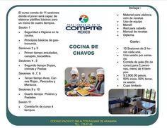 #Curso Cocina de Chavos Informes@compitemexico.com.mx Tel. 1786789
