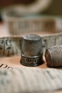 I never see a thimble that my Grandmama Crook doesn't come to mind.