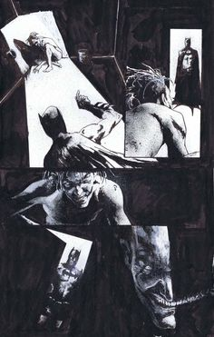 Batman Arkham City Endgame page 40 by Jason Shawn Alexander Comic Art