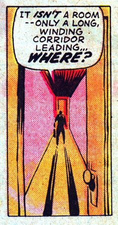 Steve had decided to leave his wife, but was trapped in a void of his own making… - Pop Art Vintage, Vintage Comic Books, Vintage Comics, Comic Books Art, Comic Art, Book Art, Retro Vintage, Comic Book Panels, Comic Book Covers