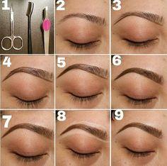 explore eyebrow makeup tips