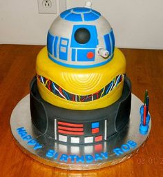 Star Wars Cake my Brother would love this!
