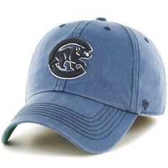 53b914209a6 Chicago Cubs  47 Sachem Franchise Fitted Hat - Heathered Navy -  23.99 Chicago  Cubs Baseball