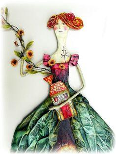 Paper art by Argentinian artist Juliana Bollini