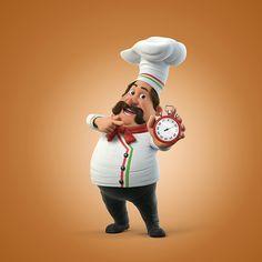 Pizzaria Mangabeiras on Behance Indian Food Menu, Chef Kitchen Decor, Food Wallpaper, Game Character Design, Logo Restaurant, Cute Cartoon Wallpapers, Menu Design, Fun Projects, Cartoon Characters