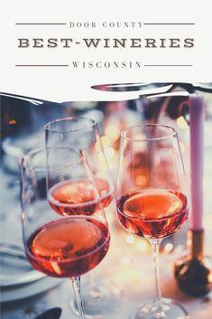 Best Door County Wines and Wineries in Wisconsin Door County is one of the best summer destinations in Wisconsin and one of the top activities… Usa Travel Guide, Travel Usa, Travel Guides, Travel Tips, Weekend Getaways In Wisconsin, Weekend Trips, Door County Wisconsin, Milwaukee Wisconsin, History Of Wine
