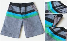 Color-blocked Boy Shorts for Shorts On The Line!