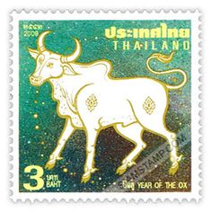 Thailand Stamps 2009 - Year of the Ox