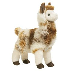 "Douglas LIAM LLAMA Alpaca Plush Toy 11"" Stuffed Animal NEW #Douglas"