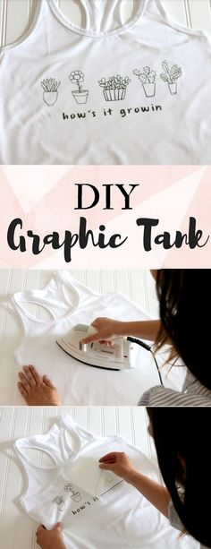 Love graphic tees and tanks? Design your own! Save money and express your style with this DIY how-to from NuFun Activities.