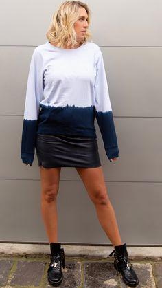 MARLIN SWEATSHIRT Tie Dye Sweatshirt, Fashion Labels, Leather Skirt, Shop Now, Campaign, Sweatshirts, Skirts, Shopping, Clothes