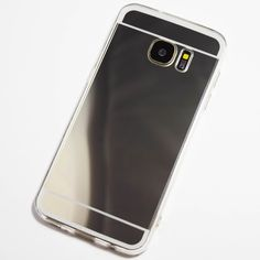Silver Samsung Galaxy S7 Mirror Case