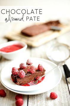 CHOCOLATE ALMOND PATE