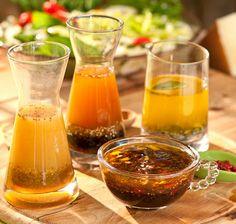 4 Recetas de ricas y saludables Vinagretas.